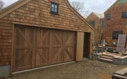 Custom Carriage House Clear Western Red cedar