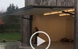 Crown Swing Hydraulic Door