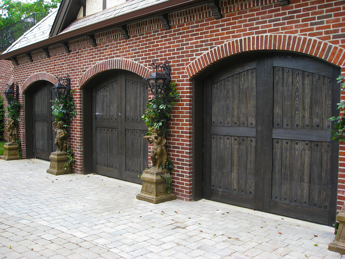 Wood composite garage doors wood composite garage doors for Composite wood garage doors