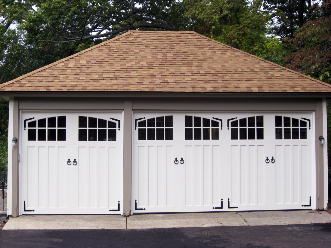 paint grade double and single garage doors aj garage. Black Bedroom Furniture Sets. Home Design Ideas