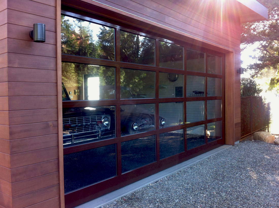 Custom 17 ft wide by 8 ft high aluminum door aj garage for 10 foot high garage door