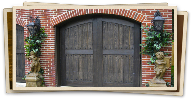 Long island garage door installation overhead garage doors for Composite wood garage doors