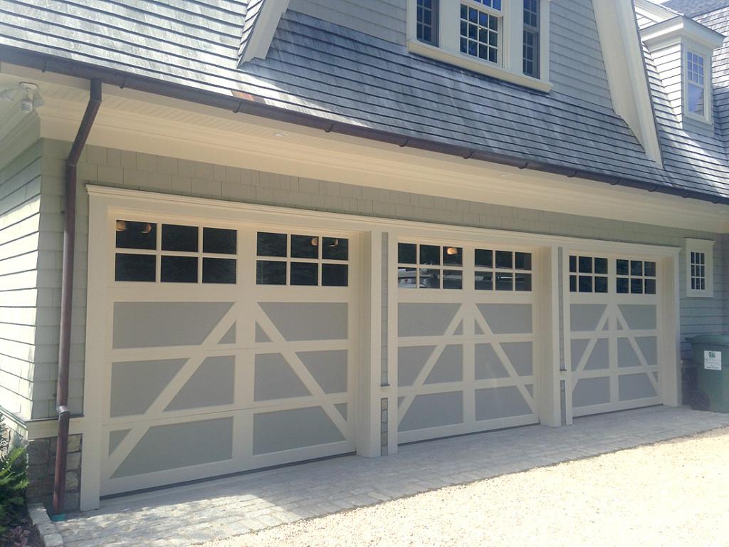 Southampton wood garage doors
