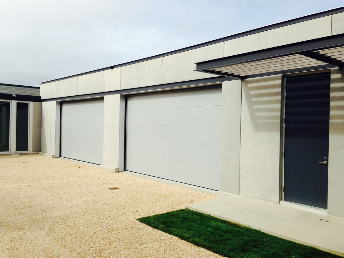 Aluminum Flush Panel Doors : Custom aluminum flush coast rates weather door aj garage
