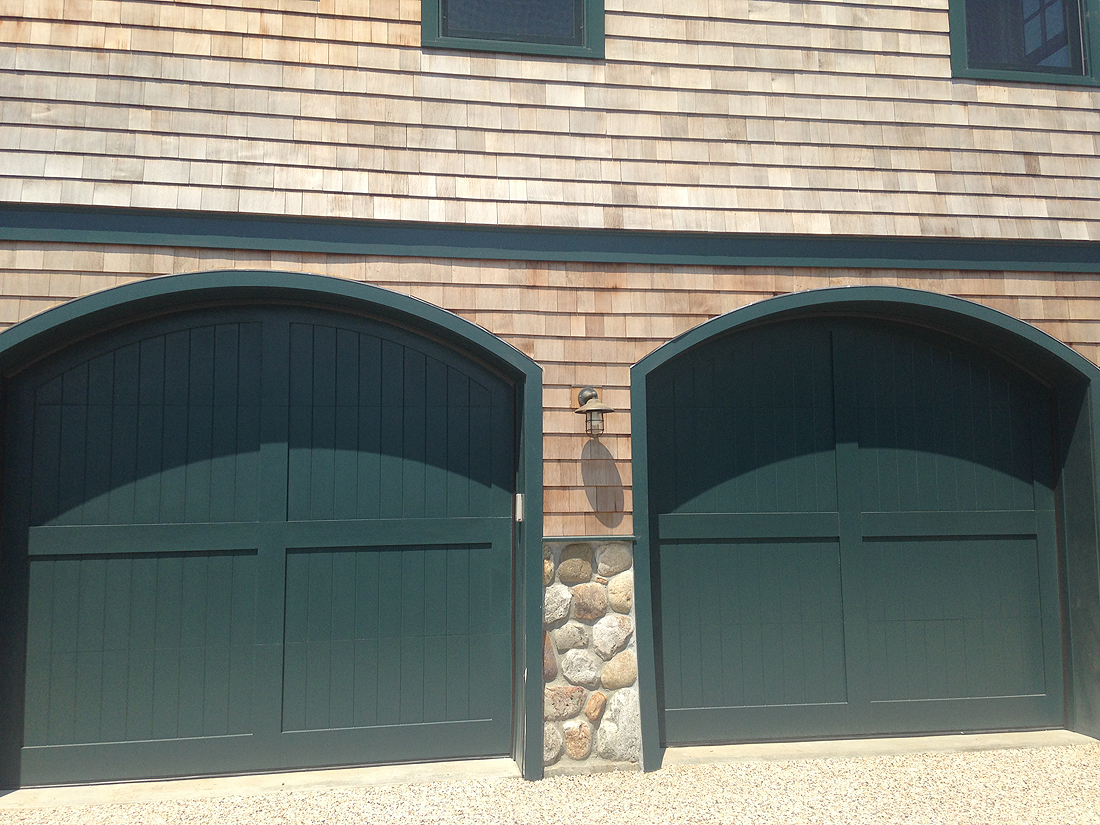 Custom wood with custom arch 10 x 8 2 aj garage door for 10x14 garage door