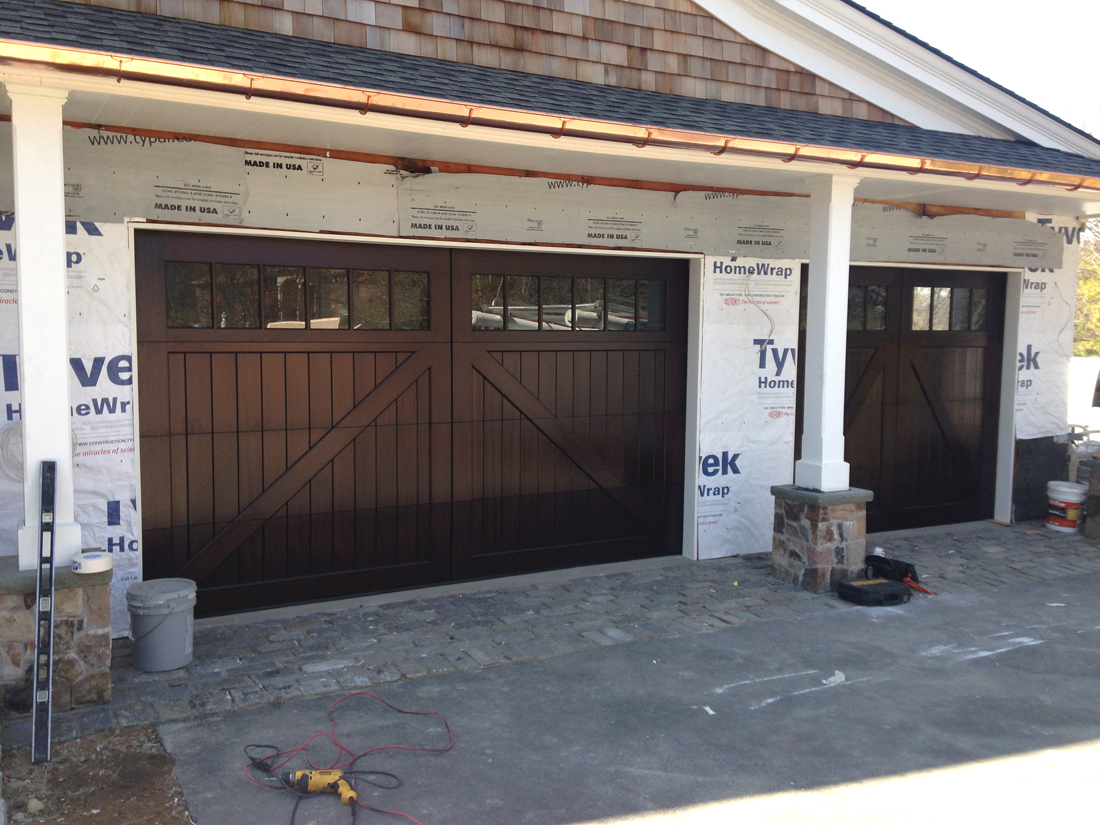825 #9A7031 Custom Wood Garage Doors In Sapele Mahogany AJ Garage Door Long  pic What Are Garage Doors Made Of 37111100
