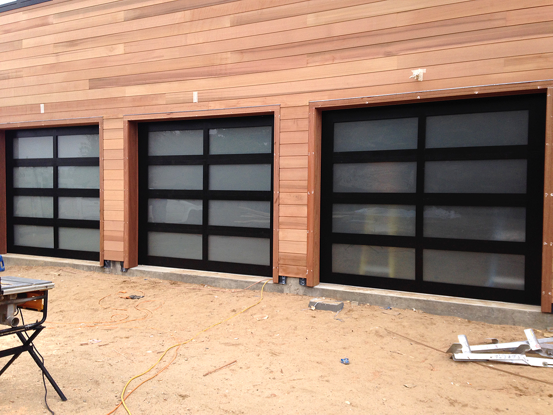 Delicieux Custom Wood Frame Garage Doors