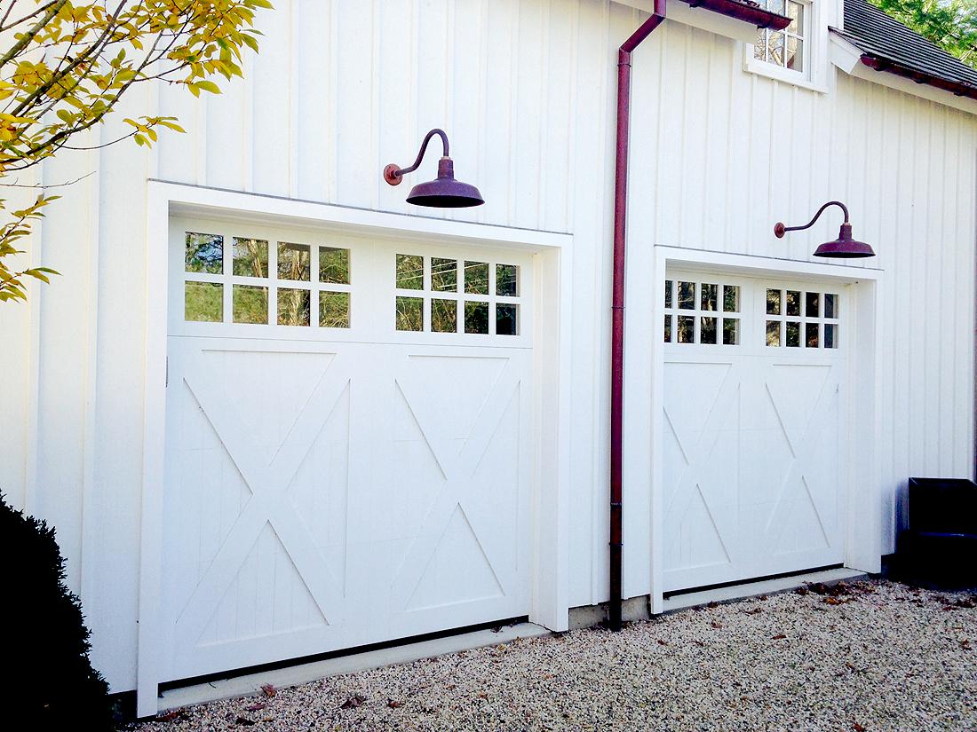 Custom Wood Doors Garage Guest House Aj Garage Door
