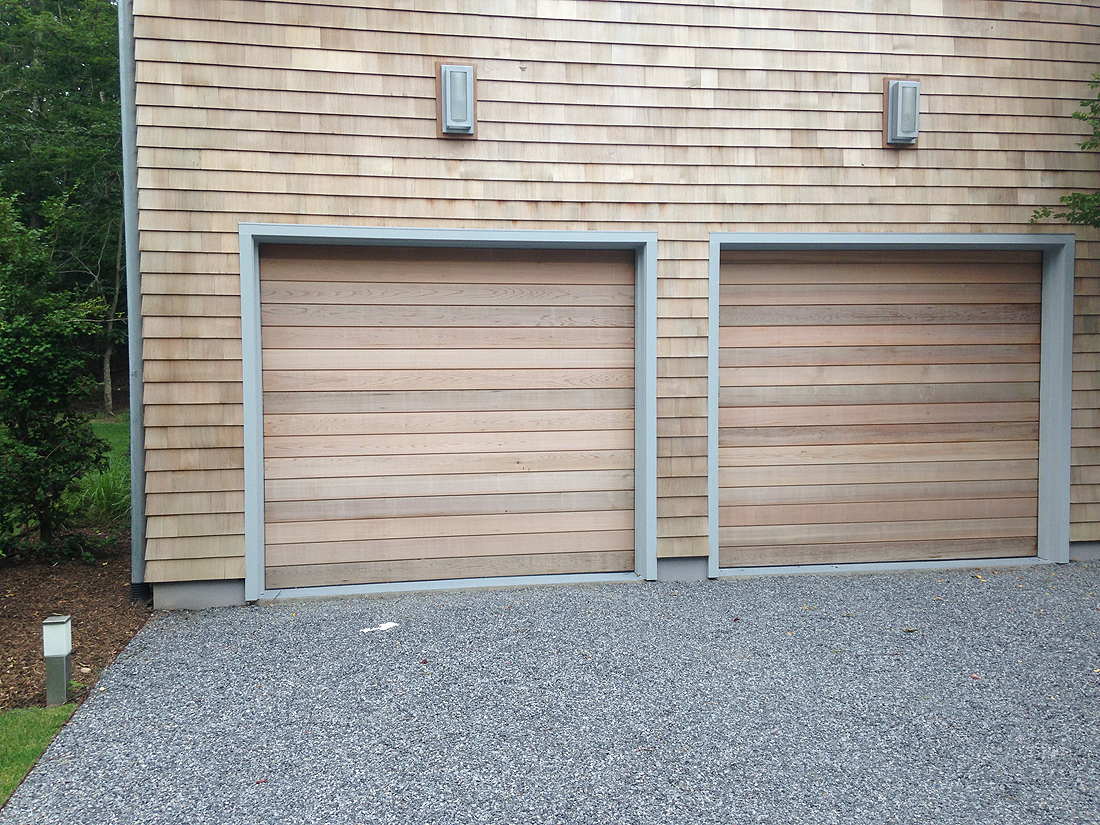 Western Red Cedar Garage Doors Roller Doors Wood Door From Dynamic