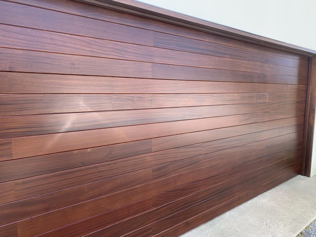 custom wood cladded door 2